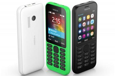 Microsoft Perkenalkan Nokia 215 dan 215 DualSIM
