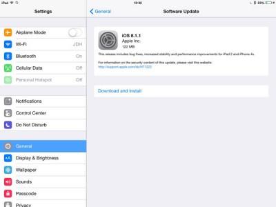 Update Terbaru iOS 8.1.1 Timbulkan MasalahBaru